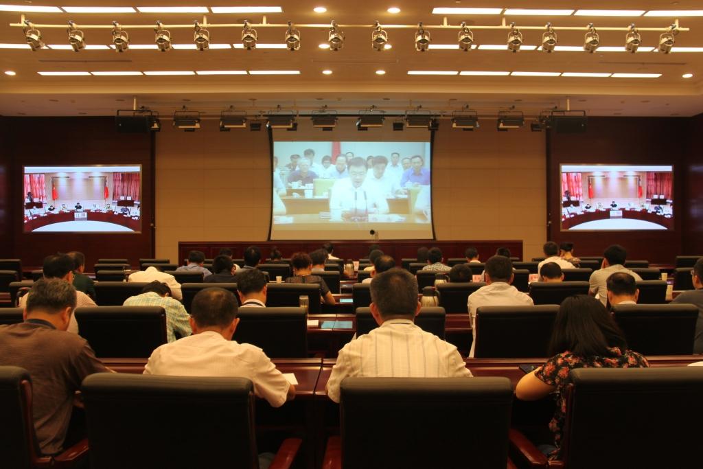 刘霞副市长在无锡分会场参加全省全面深化供销合作社综合改革工作电视电话会议